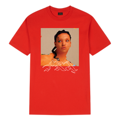MAGDALENE womans touch red t-shirt