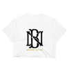 BONARUE NATION MONOGRAM Women's Crop Top