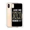 ACHE UNO iPhone Case