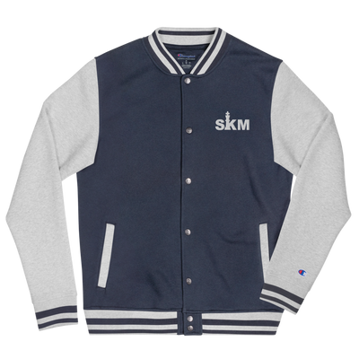 SKM Embroidered Champion Bomber Jacket