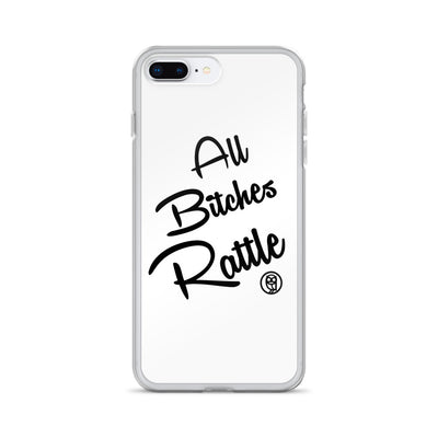 ALL BITCHES RATTLE iPhone Case