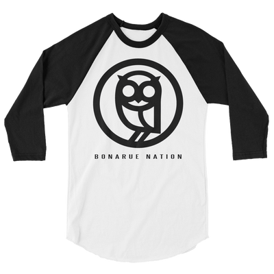 BONARUE NATION 3/4 sleeve raglan shirt