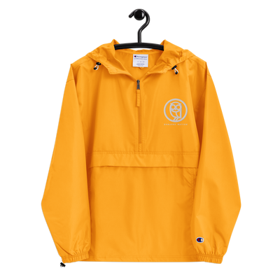 BONARUE NATION Embroidered Champion Packable Jacket