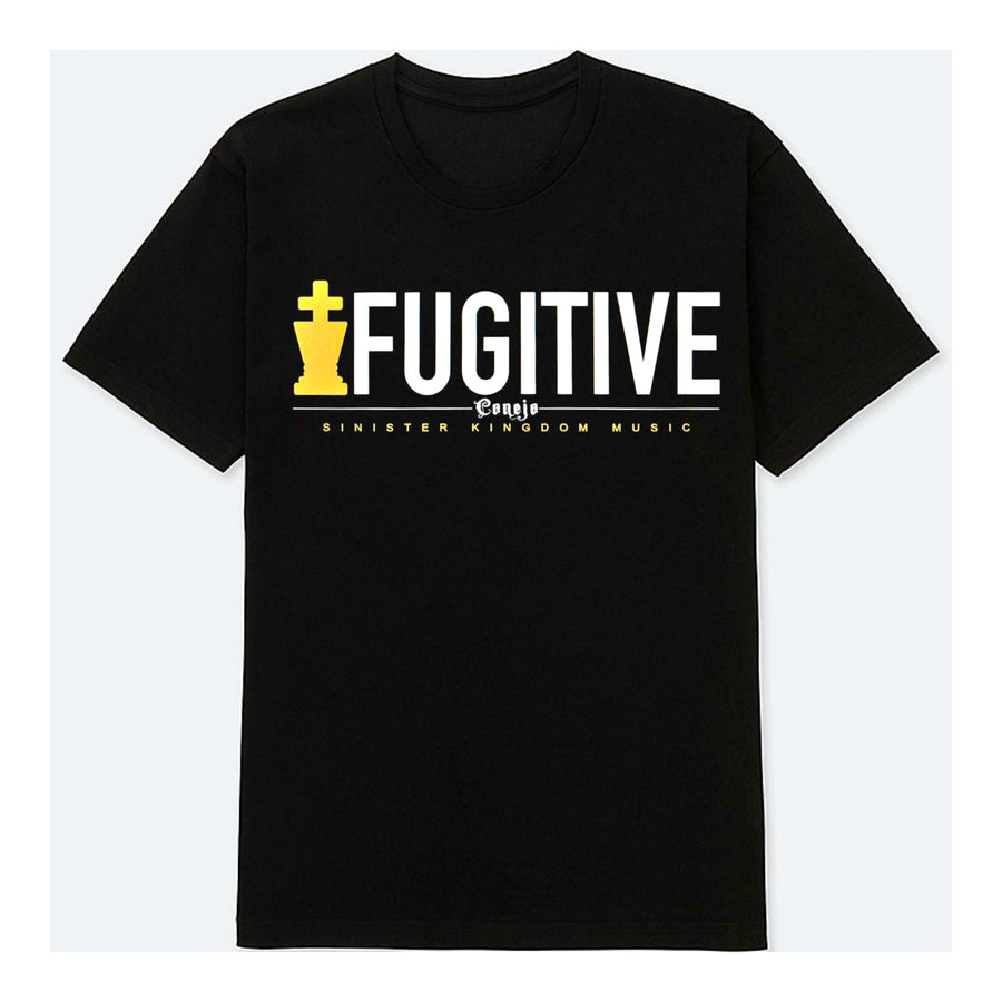 Conejo Fugitive Black T Shirt