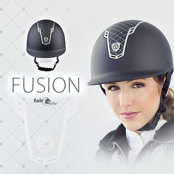 Fair Play Fusion Logo Ridehjelm