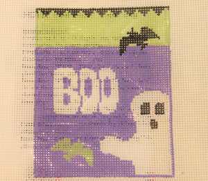 Boo Ghost Treat Bag w/spider