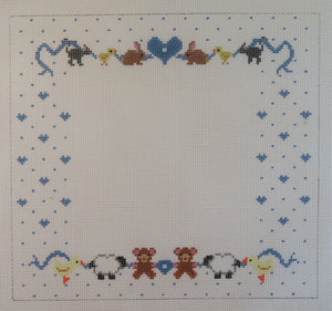 Baby Picture Frame w/Animals