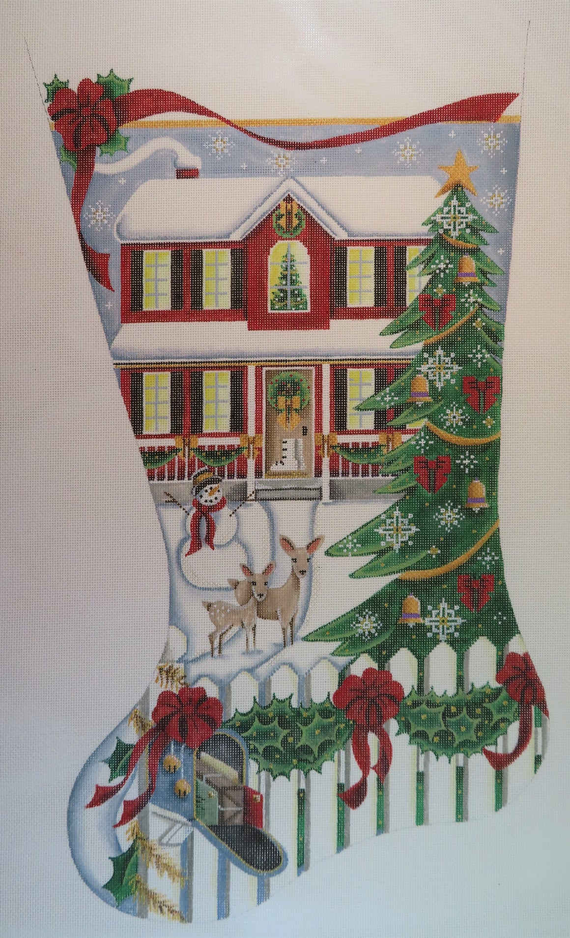 House/tree Stocking