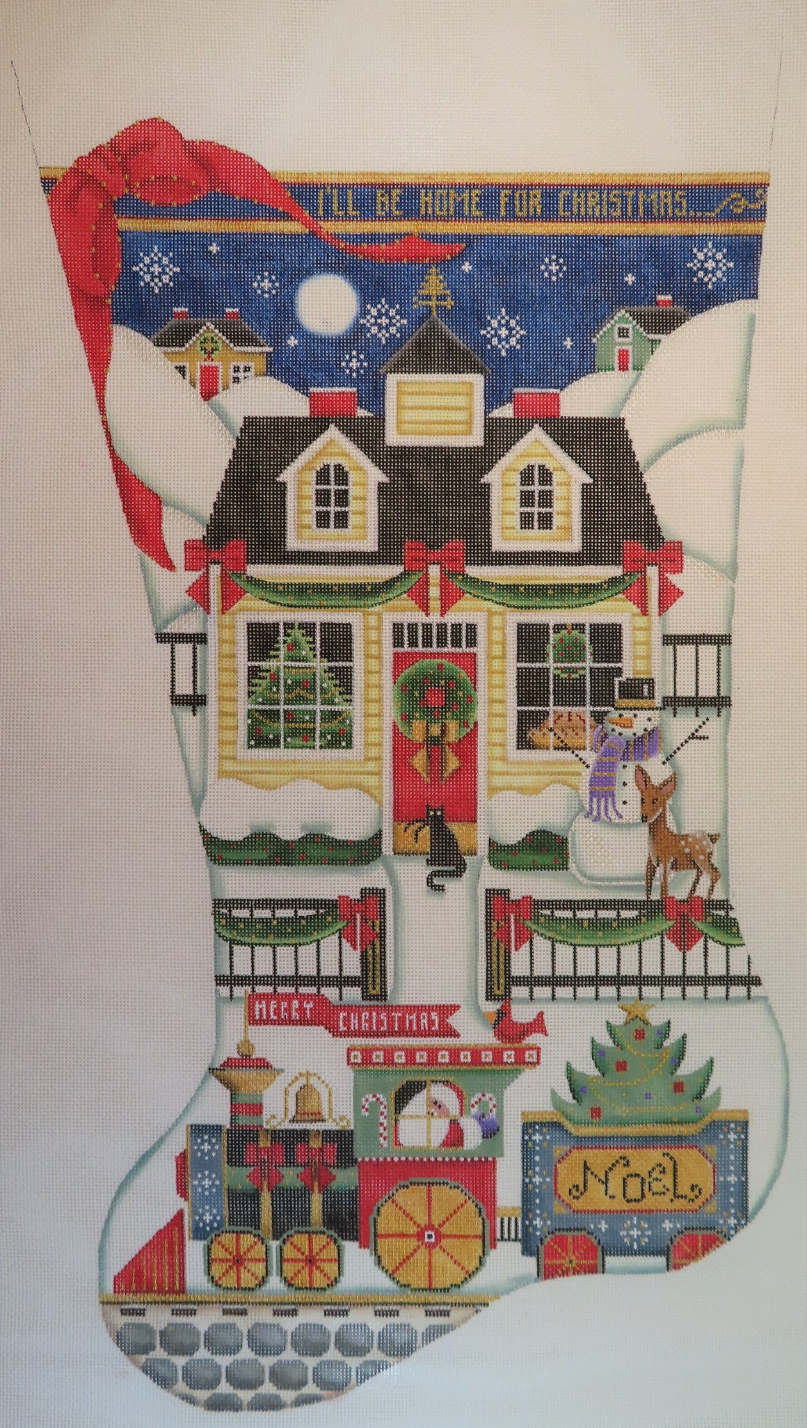 Home for Christmas Stocking