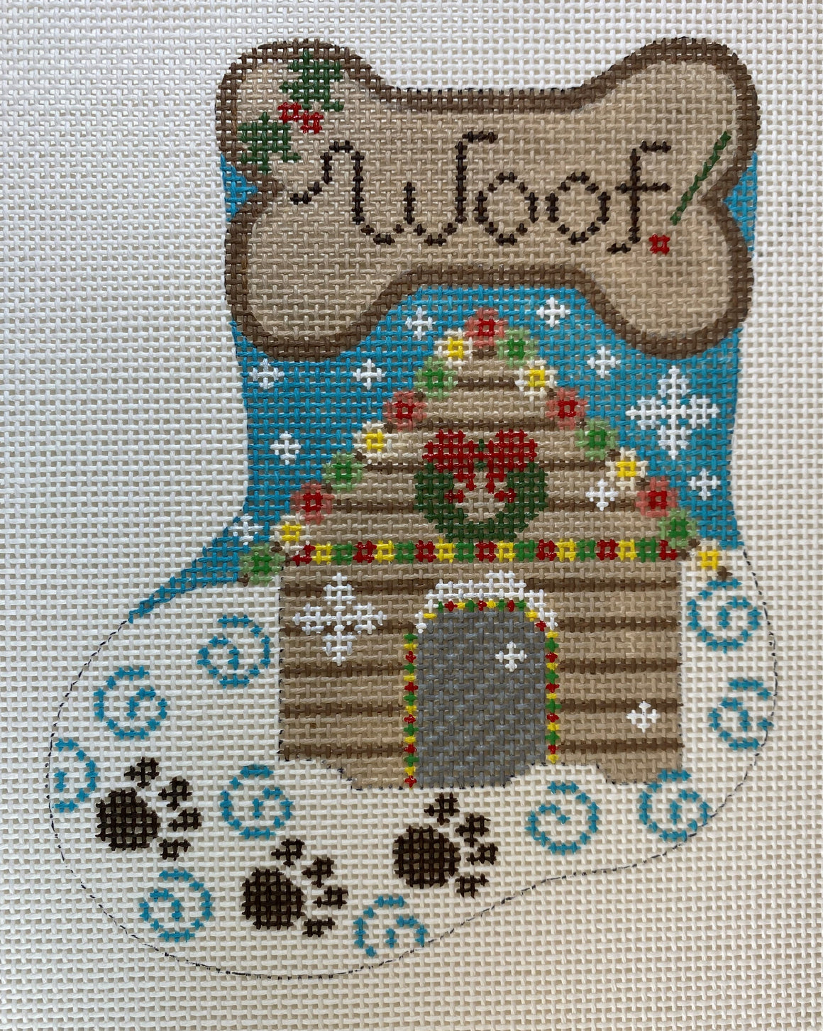 Woof! Mini Stocking