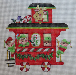 Christmas Train Caboose