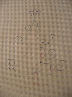 Bejeweled Tree #2 w/ Stitch Guide