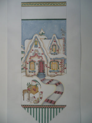 Winter House Flag