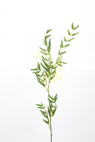 Peppercorn and Foliage Spray Cream