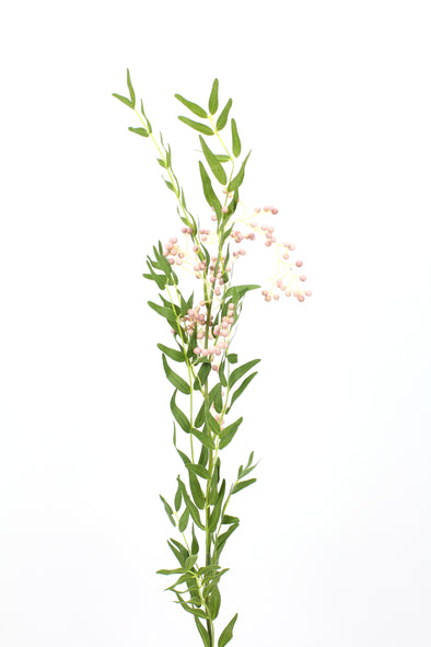 Peppercorn and Foliage Spray Pink