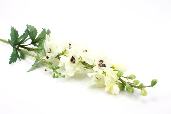 Delphinium Artificial Flower Stem - Cream