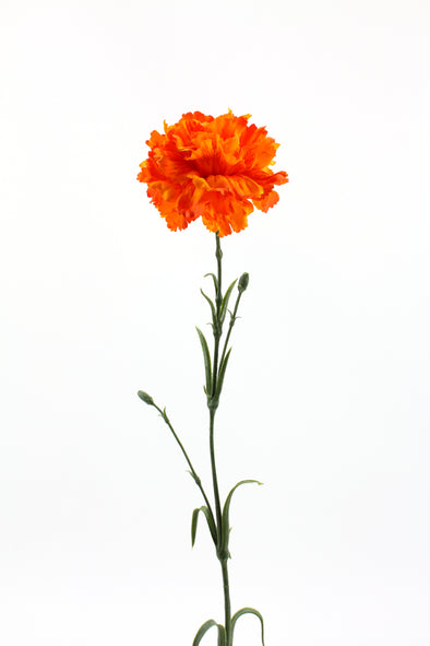 Carnation Artificial Flower - Orange 61cm