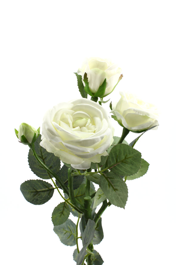 Sabrina Rose Spray White 66cm