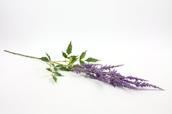 Astilbe Artificial Flower Spray - Lavender 89cm