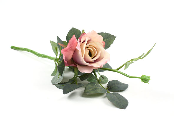 Antique pink artificial Rose