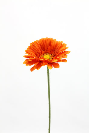 Gerbera Artificial Flower - Orange 62cm