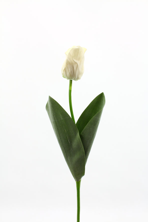 Tulip Real Touch White 50cm