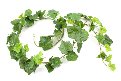 Grape Leaf Garland 6FT Real Touch