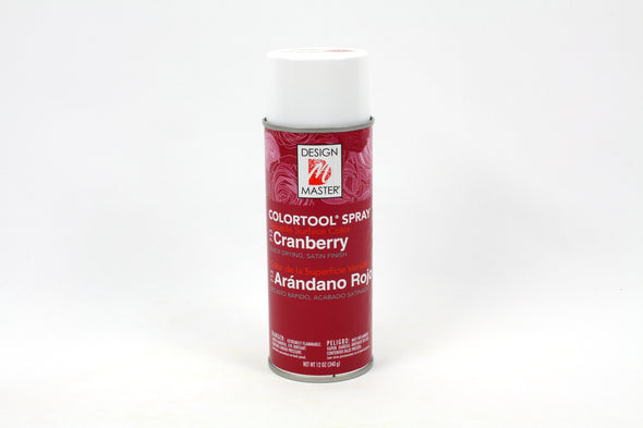 Design Master Spray Paint - Cranberry