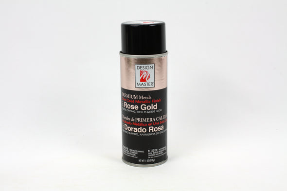 Design Master Spray Paint - Rose Gold - Premium Metals