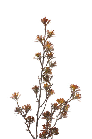 Cypress Artificial Flower Stem - Natural 88cm