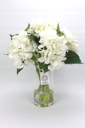 White Hydrangea Artificial Flower Arrangement
