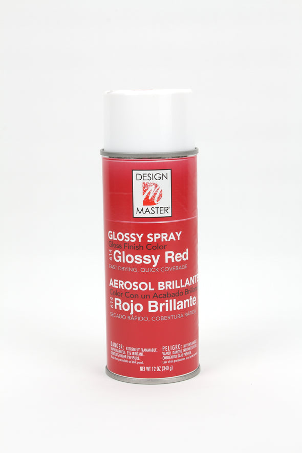 Glossy Red Design Master Spray Paint