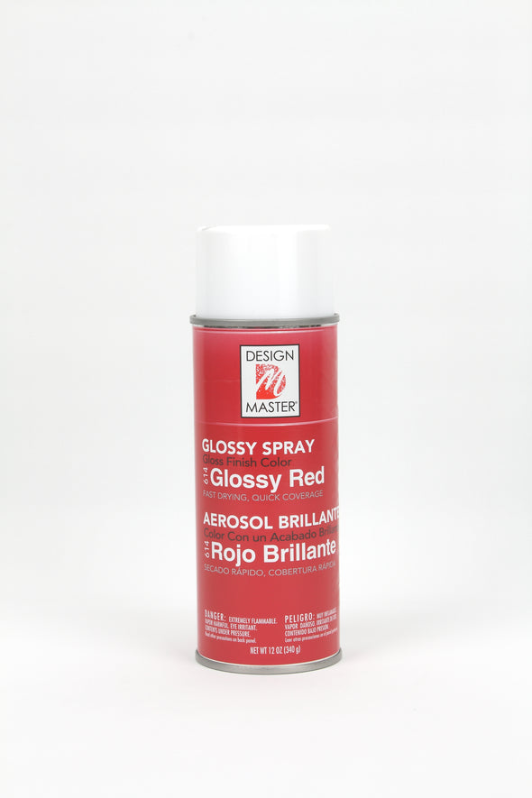 Design Master Spray Paint - Glossy Red