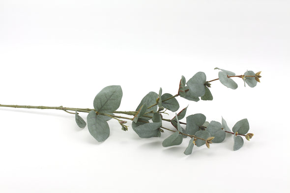 Eucalyptus Native Artificial Flower Foliage Spray - Misty Green 66cm