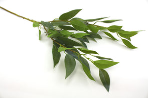 Eucalyptus Leaf Seed Spray Native Artificial Flower Foliage - Green 86cm