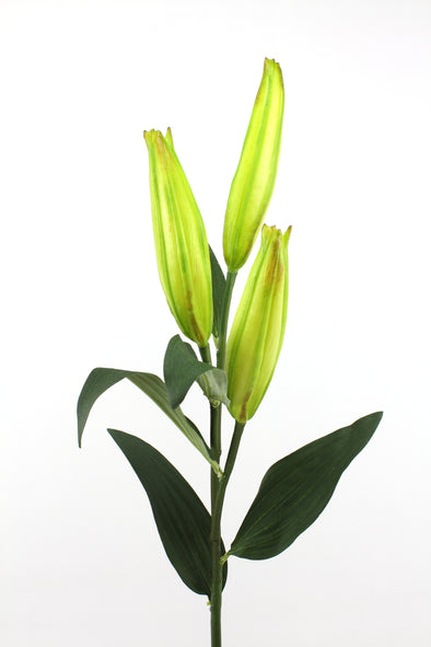 Artificial Lily Bud Spray