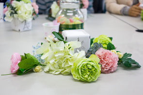Floral Workshop - Mother's Day Arrangement in Square Box - Wednesday 8th May 2019