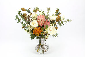 Native Protea and Magnolia Large Arrangement