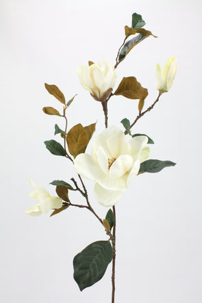 Magnolia Spray Cream White 94cm