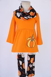 Orange Pumpkin 3pcs Set
