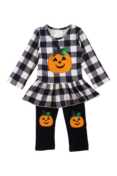 Pumpkin Peplum Set