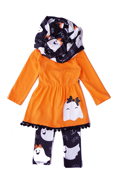 Orange Halloween 3pcs Set
