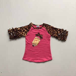 Leopard Pencil Raglan