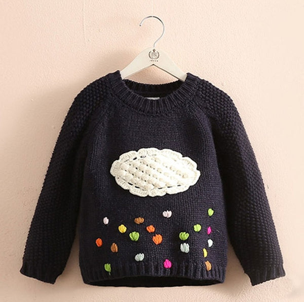 Rain Cloud Sweater