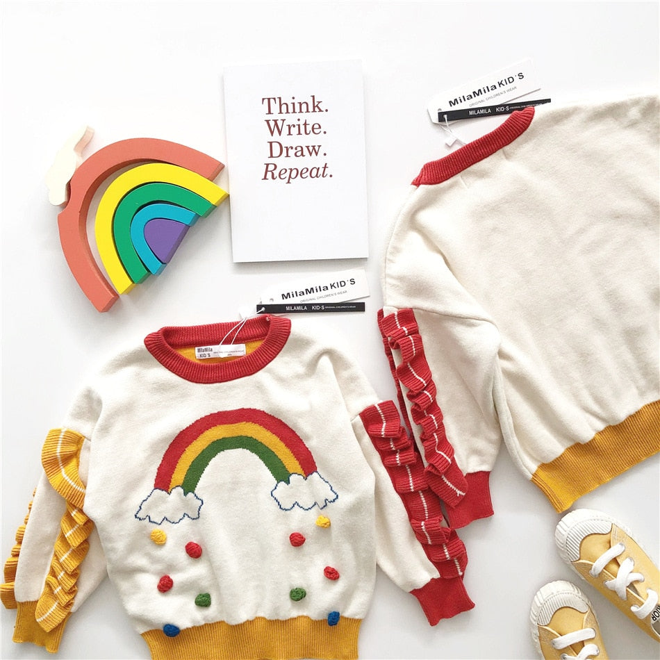 Princess Rainbow Sweater