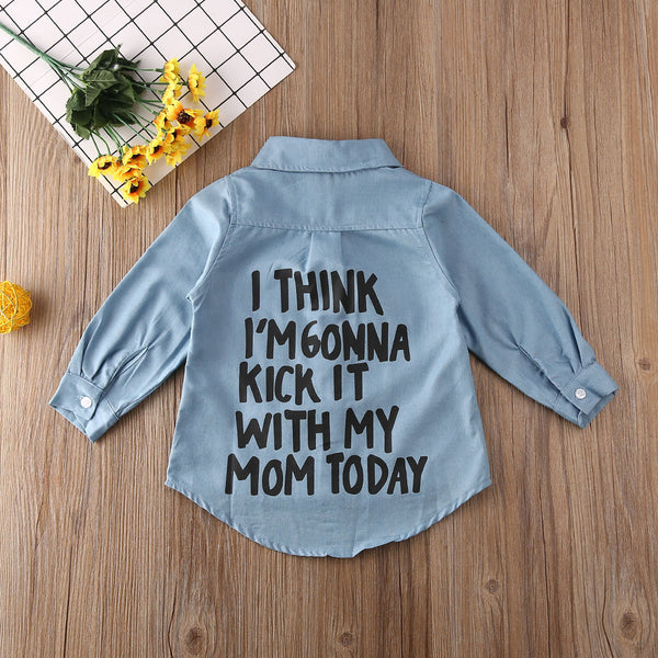 With Mom Shirt