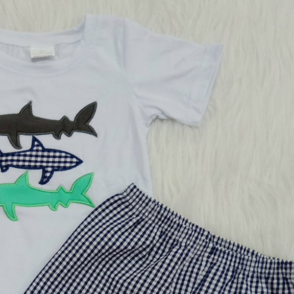 Embroidered Fish Set