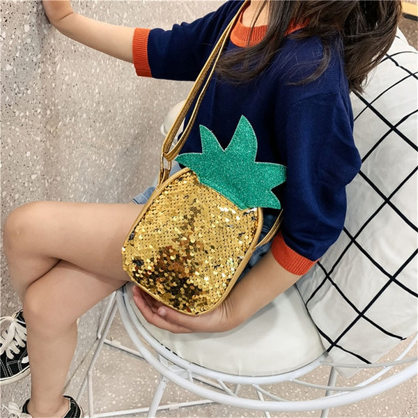 Strawberry Pineapple Sequins Handbags