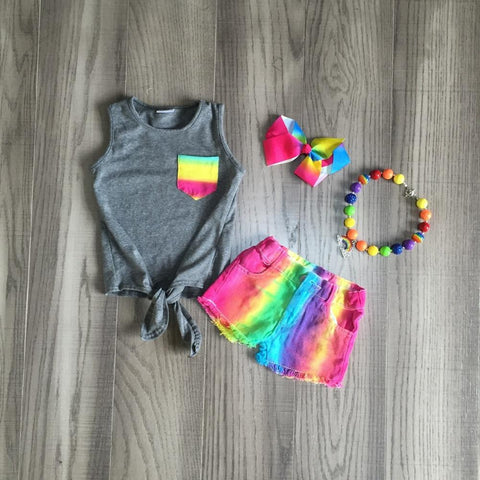 Colorful Striped Set w/Accessories