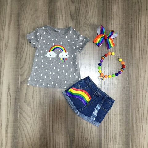 Rainbow Cloud Set w/Accessories